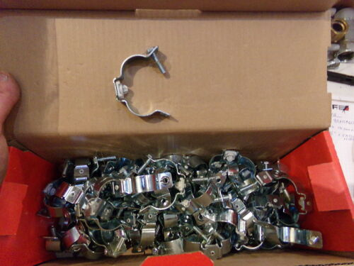"""NEW BOX OF 100 HILTI STAND OFF CLAMPS X-EMTSC 1/"""" MX 228340"""