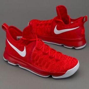 quality design ef35d ece23 Image is loading Nike-KD-9-IX-Varsity-Red-White-Size-