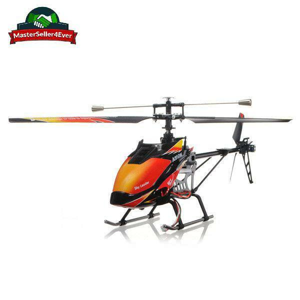 Original-WLtoys V913 2.4G 4CH Stable Single Blade RC Helicopter LCD Controller