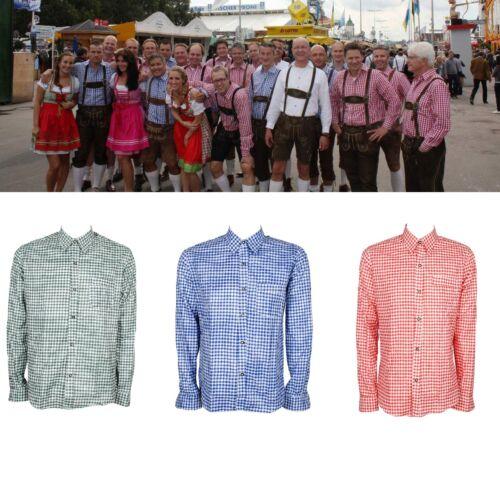 Mens Bavarian Shirt Classic style to go with Lederhosen Octoberfest