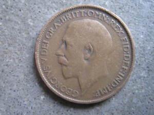 GB12dHalf Penny1916r 46 - Bingley, United Kingdom - GB12dHalf Penny1916r 46 - Bingley, United Kingdom
