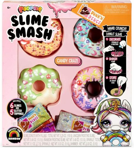 Poopsie Slime Smash Candy Craze with Crunchy Donut Slime New 2020
