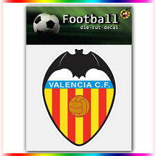 "Valencia CF UEFA Die Cut Vinyl Sticker Car Bumper Window 4""x3"""