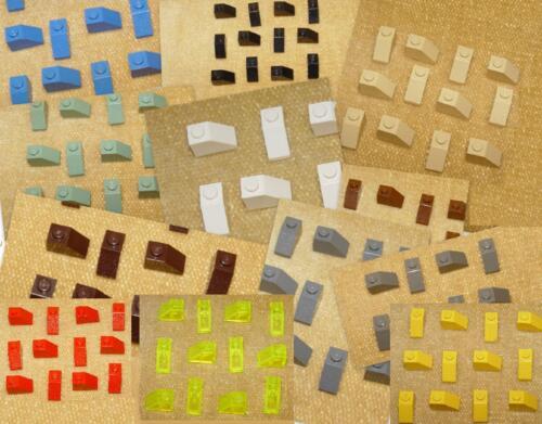Slope LEGO Parts 3040 or 3040a Slope 45 2 x 1 ❤ CHOOSE YOUR COLOUR ❤ x15 pc
