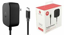 OEM Motorola TurboPower 15 Type C 3A Home Travel Wall USB Charger For Moto Z M