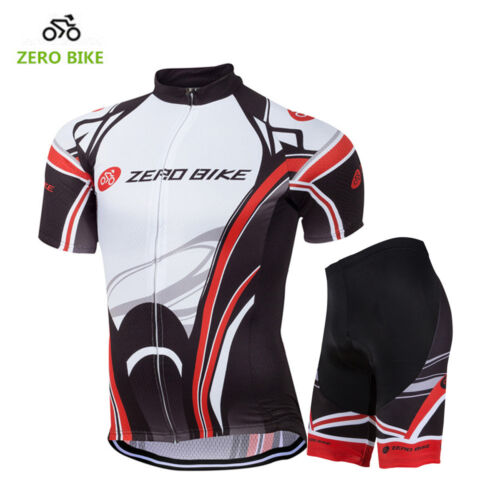 Men/'s Sport Team Cycling Jersey Sets Bike Bicycle Bib Top Short Sleeve Clothing