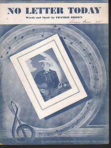 No-Letter-Today-1943-Gene-Autry-Sheet-Music