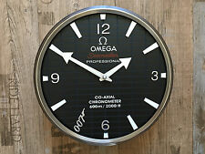 NEW OMEGA SEAMASTER ACTOR 007 SKYFALL DEALER SHOWROOM WALL CLOCK LIMITED EDITION