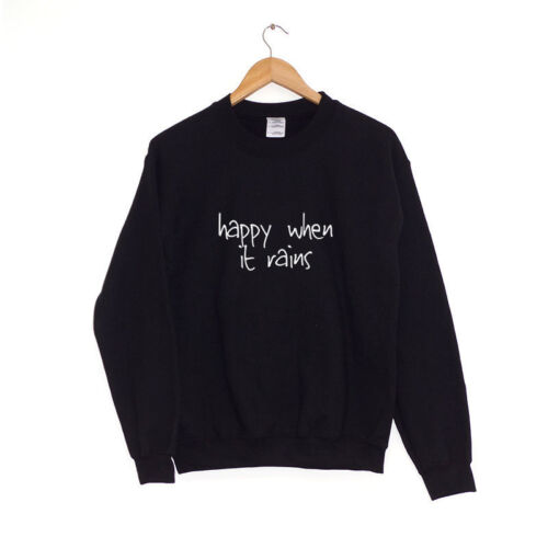 Heureux quand il pleutPull SweatHipster Clothing