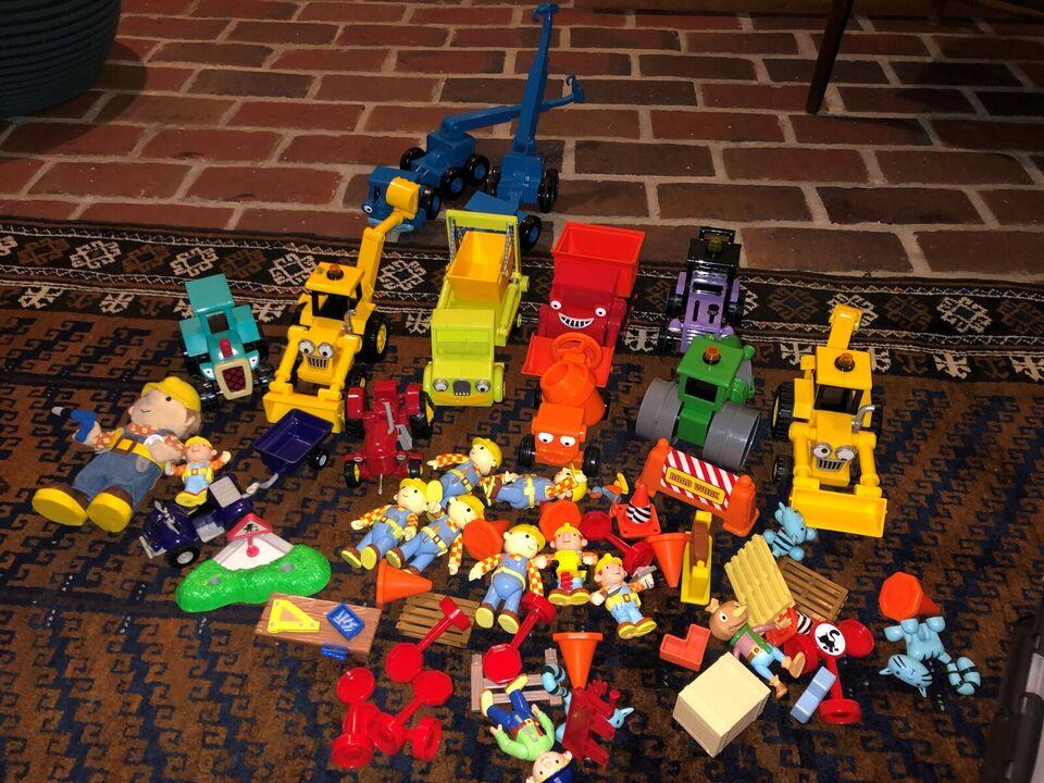 Figurer, Byggemand Bob legetøj
