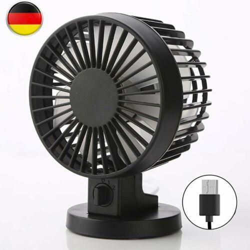 AKUU DE Mini Ventilator Tischventilator mit Standfuß Leises Betriebsgeräusch