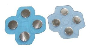 Nintendo-3DS-replacement-Electro-Button-Set-for-D-Pad-amp-ABXY-Buttons-UK-Seller
