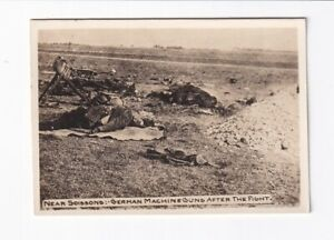 Foto-1-Weltkrieg-Near-Soissons-German-Machine-Guns-After-The-Fight