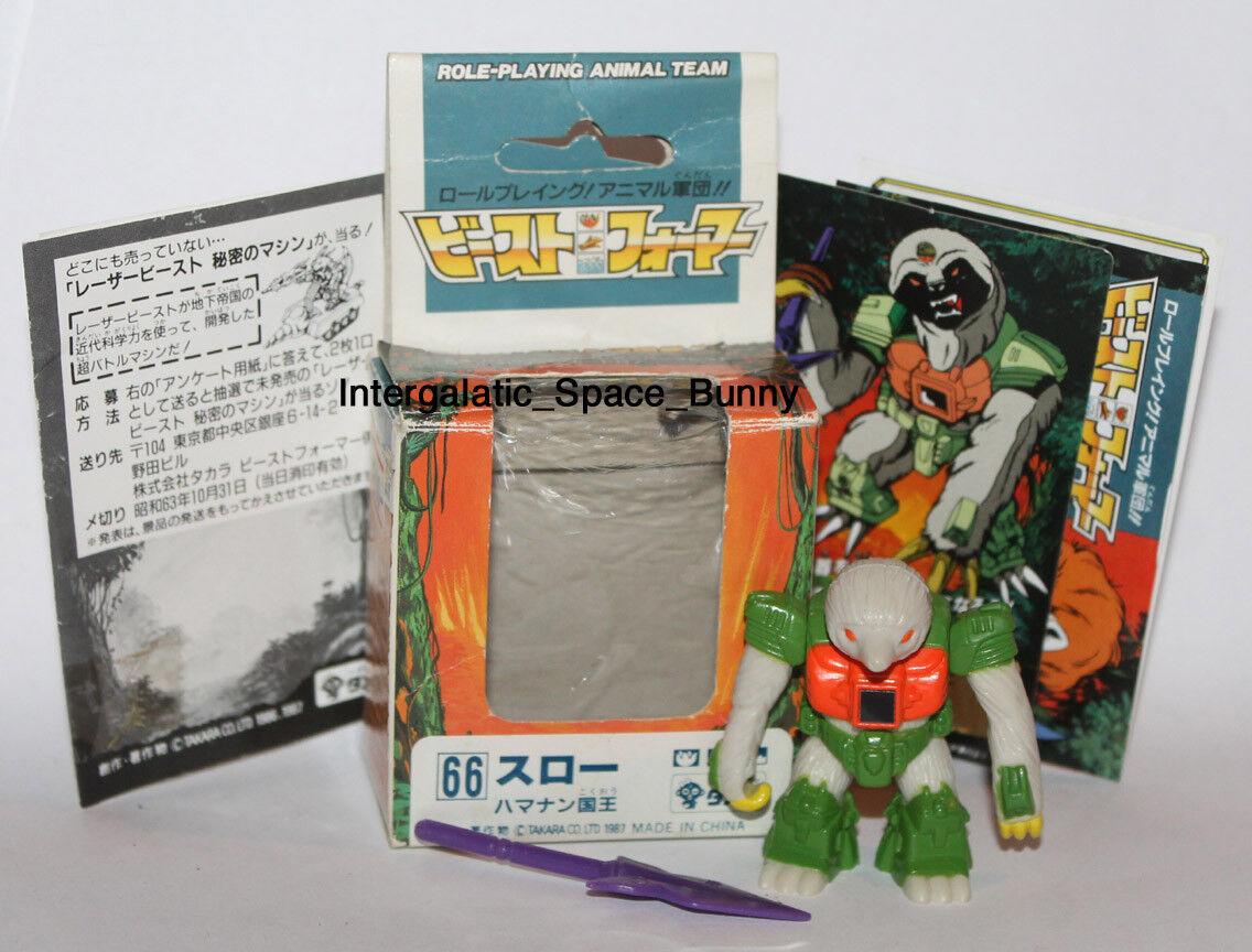 Takara Battle Beasts Beastformers Series 3 Killer Sloth Boxed & Complete