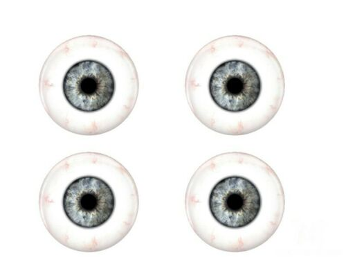 Realistic Human Glass Eyes Gray Glass Eyes Eyes Reborn Doll Eyes