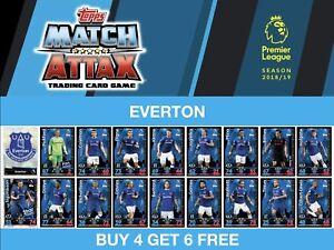 S signature Homme du Match et le 3 Pour £ 2 Match Attax 18//19 Rising S