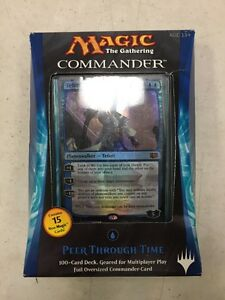 Magic-The-Gathering-2014-Commander-Deck-Peer-Through-Time-For-Card-Game-MTG