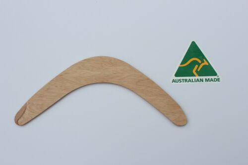 qty 18 ready to decorate Australian Made 29cm blank ply throwing Boomerang
