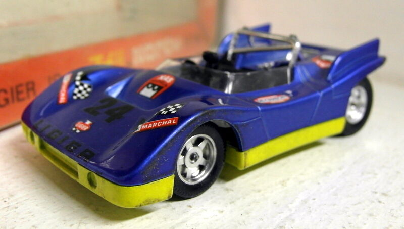 Norev Jet-Car 1 43 Scale 710 Ligier JS 3 bluee 1971 diecast model car