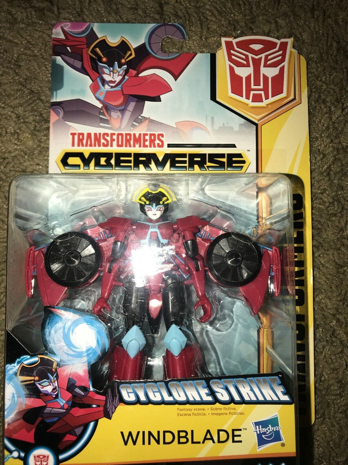 Transformers  Cyberverse WINDBLADE CYCLONE STRIKE 5in Action Figure NEW
