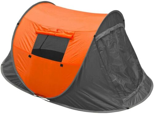 Pop Up Tent 2 Man Easy Quick Pitch Two Person Festival Camping 1500HH Trail