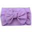 Baby Toddler Turban Solid Headband Hair Band Bow Accessories Headwear
