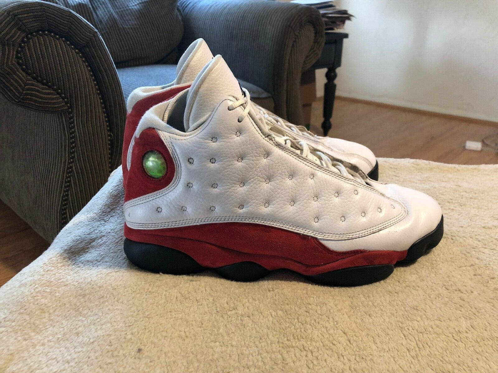 2010 Retro Jordan XIII Red White Cherry Comfortable Seasonal price cuts, discount benefits