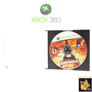 Tom Clancy's EndWar (2008) Xbox 360 Video Game Pearl Case Tested Works A+