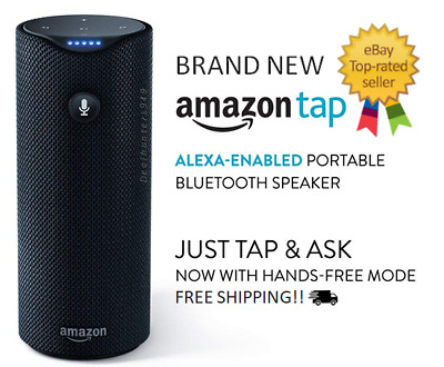Amazon Tap Alexa-Enabled Portable Bluetooth Speaker Brand NEW Sealed