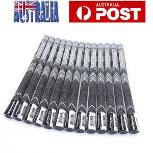 13PCS-Golf-Grips-Golf-Irons-Club-Grips-MCC-Multi-Compound-Cord-Standard-Grey
