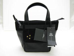 JEROME-DREYFUSS-034-Vladimir-034-Mini-Black-Tote-Leather-Bag-BNWT-dustbag