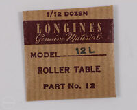 Longines Genuine Material Part 12 Roller Table For Longines 12l