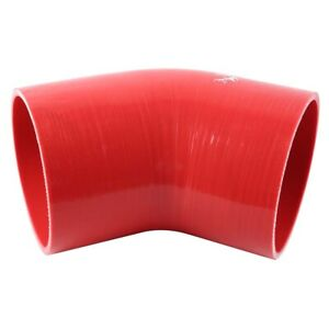 4-0-034-To-4-0-034-Inch-102-102-mm-45-Degree-Hose-Turbo-Silicone-Elbow-Coupler-Pipe
