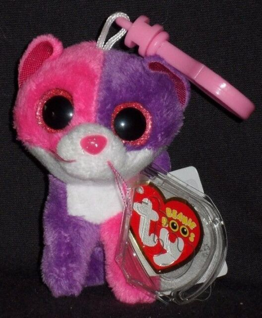 a9b1d1962f6 Ty Beanie Boos Collection Claire s Pellie The Cat Pink 3