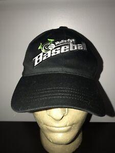 92d674e73ed Image is loading VINTAGE-Bulls-Eye-Baseball-Trucker-Hat-Baseball-Cap-