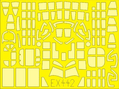 Eduard 1//48 Ilyushin DB-3F//IL-4//IL-4T Paint Mask # EX442