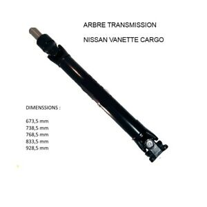 ARBRE-TRANSMISSION-LONGITUDINAL-ARRIERE-pour-NISSAN-SERENA-CARGO-VANETTE-928-mm