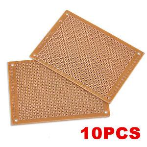 10PCS-DIY-Prototype-Paper-PCB-Universal-Experiment-Matrix-Circuit-Board-5x7cm