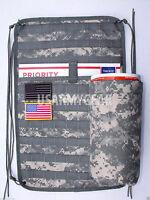 Acu Military Molle Ll Vehicle Panel Mvp Atv Utv No Canteen Sustainment Pouch