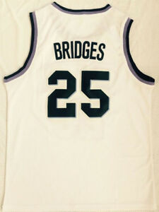 01700a39d Image is loading Mikal-Bridges-Jersey-25-Villanova-Wildcats-White-Stitched-