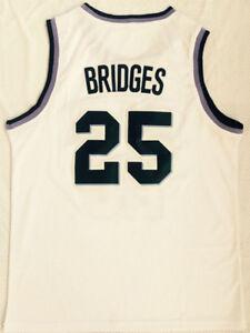 more photos 33b50 ed84d Details about Mikal Bridges Jersey #25 Villanova Wildcats White Stitched  Basketball Jersey