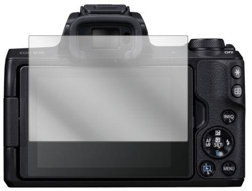 6x Canon EOS M50 Pellicola Protettiva Protezione Schermo Cristallo dipos