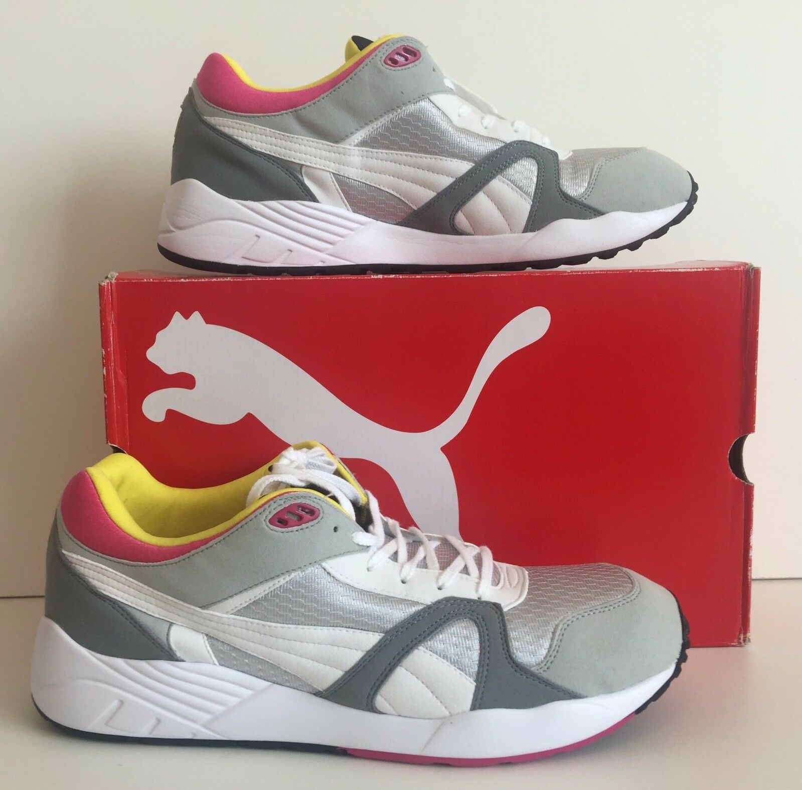 PUMA TRINOMIC COMPRESSION MULTI COLOUR TRAINERS Taille 13