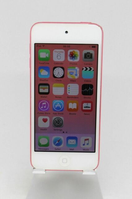 Refurbished Apple iPod Touch 5th Gen A1421 (32 GB) Pink MP3/MP4 Bluetooth WiFi