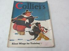 Collier's Magazine November 30 1940 GERMAN AIR FORCE - GLIDING - BARBARA HAM -