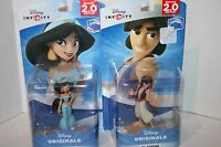 Disney Infinity 2.0 Aladdin Jasmine Figures Set Wii U Xbox One 360 Ps3/ps4