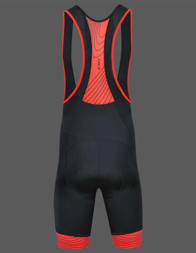 2019 CHEJI Polar Men/'s Cycling Spandex Bib Shorts 3D Padded Bike Bibs Size S-3XL