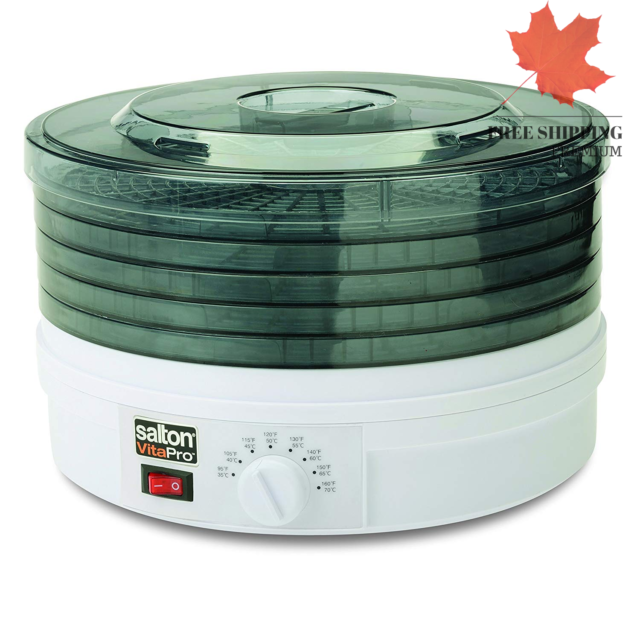 Salton DH1454 Collapsible Dehydrator 🇨🇦 FAST & FREE