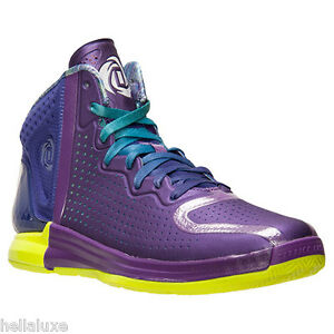 c207a20e7c27 NIB~Adidas D ROSE 4 CHICAGO NIGHTFALL Derrick crazy Basketball quick ...