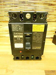 Mitsubishi 15a 2p 480V NF-SF2015 breaker